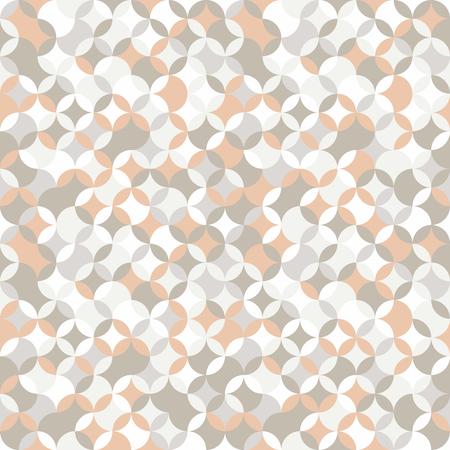 stitching: Simple round backdrop. Based on Traditional Japanese Embroidery. Bright Seamless repetition. Based on Sashiko stitching - shippo-tsunagi. Illustration