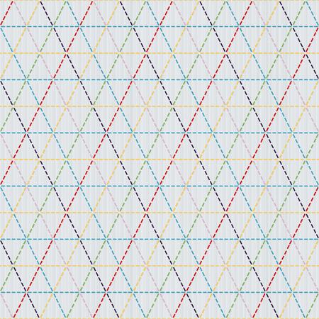 日本の刺し子をモチーフ。織り。シームレス パターン。抽象的な背景。針仕事のテクスチャです。伝統的な日本刺繍の飾り。ヴィンテージの sasiko。