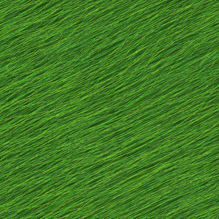 Simple Seamless Pattern with Green Grass. Plain shadeless texture with green lines for decoration or background.