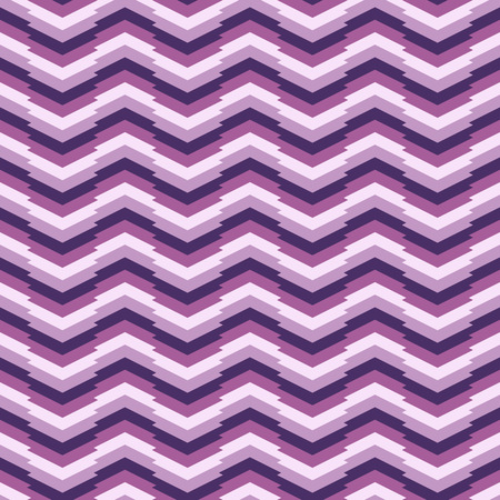 Seamless wavy backdrop for wallpaper, webpage background, surface textures. Violet colors. Regular abstract corrugated texture. Pattern fills. For decoration or printing on fabric. Geometric ornament.