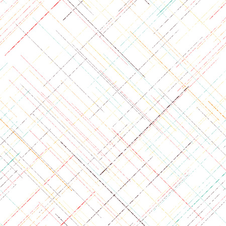 Diagonal grunge texture. Abstract seamless pattern. Pattern fills. Random lines. checkered template. Simple design for wallpaper, web page background, surface textures.