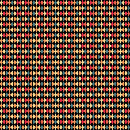 rhomb: Abstract rhombus pattern. Colorful vertical background for poster or flyer. Rhombuses in dark saturated colors. Vector illustration. Illustration