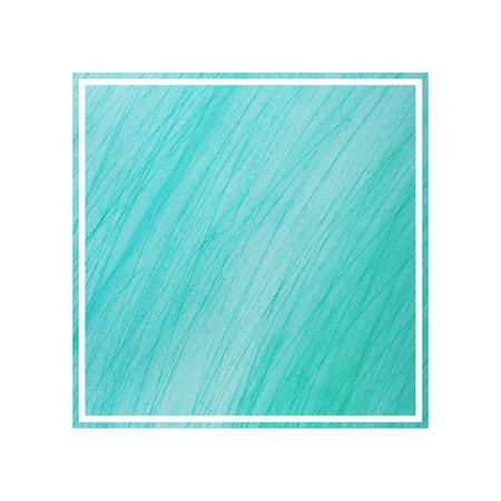 aquarelle: Watercolor postcard. Aquarelle frame. Copy space. Graphic decorative background. Grunge backdrop. Green watercolor design element. Stock Photo