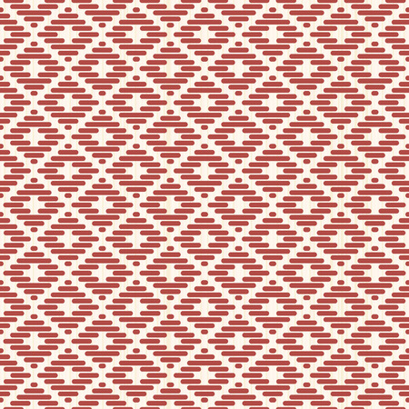 Seamless pattern. Japanese Kogin embroidery. Traditional ornament Mameko. Abstract illustration. Simple geometric ornament.