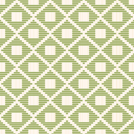 Abstract pattern. Japanese Kogin embroidery. Traditional ornament Ishi-datami. Geometric illustration. Simple asian ornament for stitching.