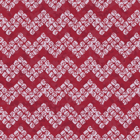 Shibori motif. Colorful seamless pattern. Stylised asian ornament. Classic japanese dyeing technique. Simple background for decoration or printing on fabric.