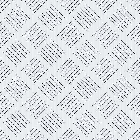 サシコ日本の伝統的な刺繍。シームレスなパターン。抽象的な背景。幾何学的背景。刺繍モチーフ。パターンが塗りつぶされます。背景、テクスチ