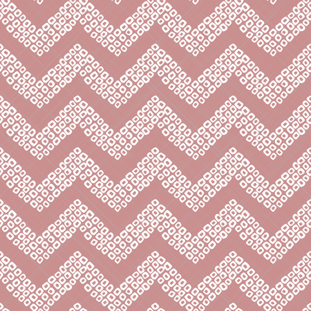 Shibori motif. Pink colored seamless pattern.