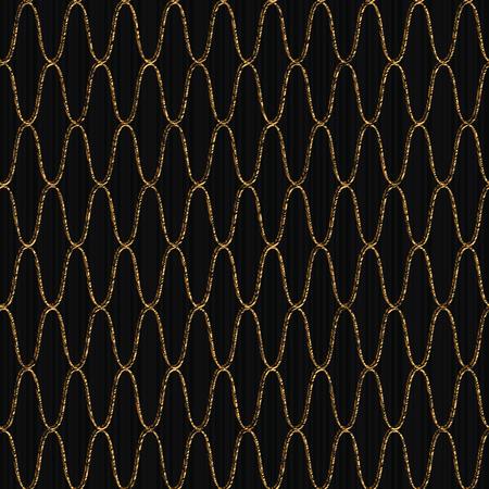 釣り網のパターン。