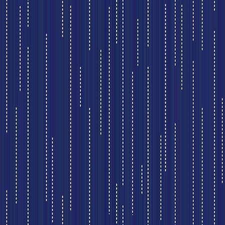 サシコ抽象的なシームレスなテクスチャ。着物柄。古典的な日本のクイルリング。幾何学的背景。ニードルワークテクスチャ。パターンが塗りつぶ
