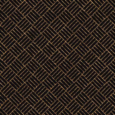 ウェブページの装飾やパターンの塗りつぶしのためのシンプルなテクスチャであることができる抽象的な幾何学的背景を持つ傷ついた黄金の装飾。  イラスト・ベクター素材