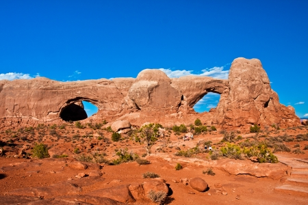 Window Arch in Arches National Park,Utah photo