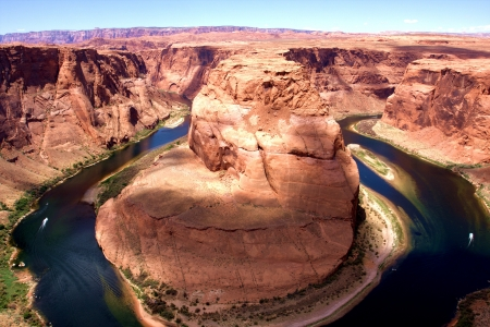 Horseshoe bend in Arizona  photo