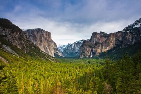 Beautiful Landscape in Yosemite National Park,California photo