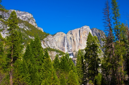 Beautiful Landscape in Yosemite National Park,California photo