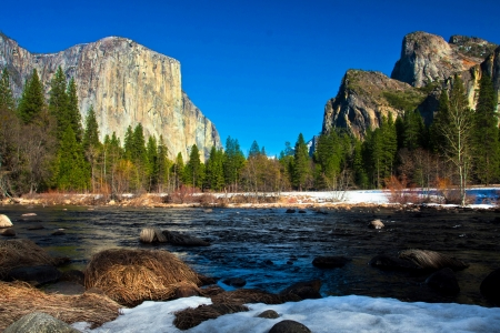 Yosemite Valley in Yosemite National Park,California photo