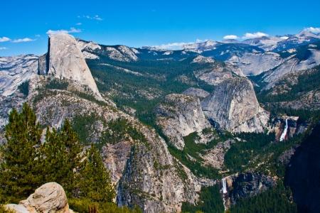 granite park: Half Dome Rock , the Landmark of Yosemite National Park,California