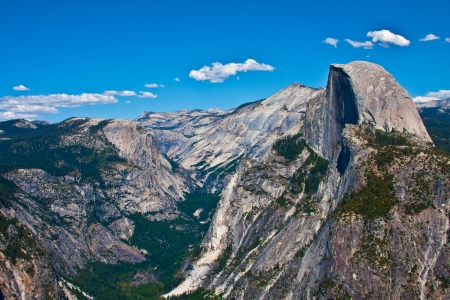 Half Dome Rock , the Landmark of Yosemite National Park,California photo