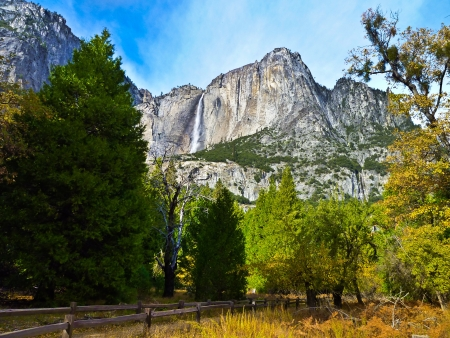 Yosemite Waterfalls in Yosemite National Park,California photo