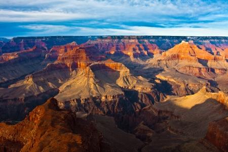 The Beautiful Landscape of Grand Canyon National Park, Arizona 版權商用圖片