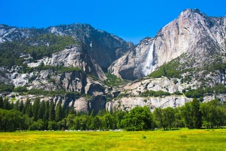 Yosemite Falls in Yosemite National Park,California
