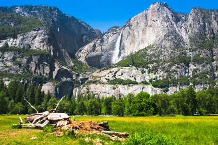 Yosemite Falls in Yosemite National Park,California photo