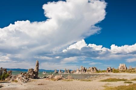 lost city: Tufa Formation in Mono Lake, California