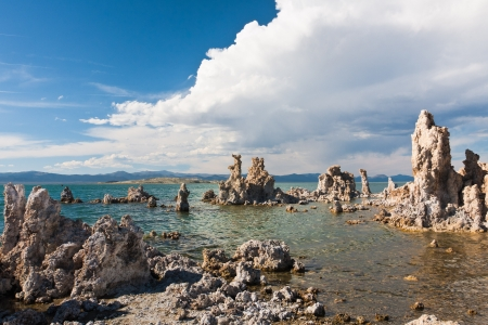 geological: Tufa Formation in Mono Lake, California