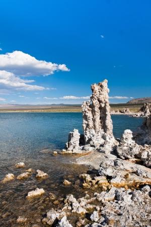Tufa-Formation in Mono Lake, Kalifornien Standard-Bild - 20138913