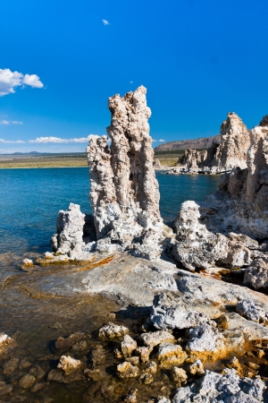 Tufa Formation in Mono Lake, Kalifornien Standard-Bild - 20138919