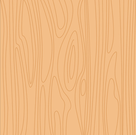 Natural beige wood background. Pine wood  texture.  Vector
