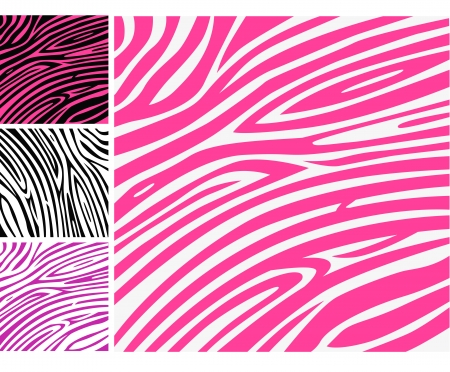 for print: Pink zebra skin animal print pattern. Pink zebra background pattern - perfect texture for your unique design!