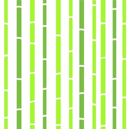 Vert motif bambou transparente.