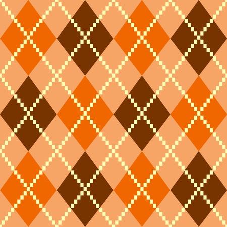 빈티지 argile 갈색 원활한 패턴 또는 배경입니다. 벡터