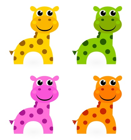 Funky creature set. Stock Vector - 13794202