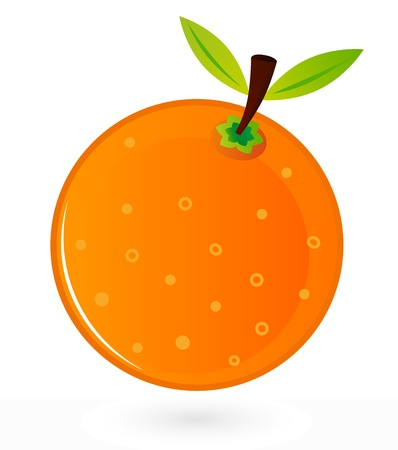 Orange for your design. Vector Illustration Vector