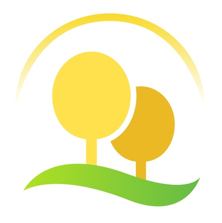 Nature, agriculture or forest icon. Vector Vector