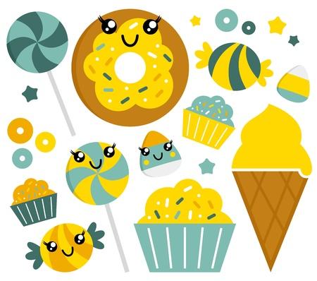 frutoso: Doces doces Ilustra��o cole��o
