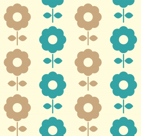 Floral seamless pattern with flowers. Stock Vector - 20301539