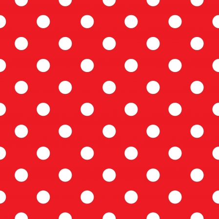Polka dot fabric. Retro vector background or pattern Vector