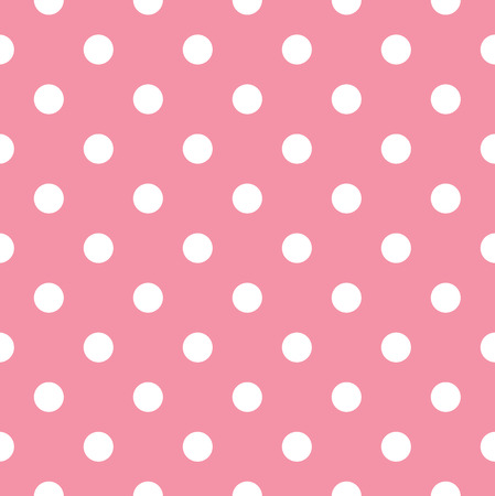 baby s: Polka dot fabric Illustration