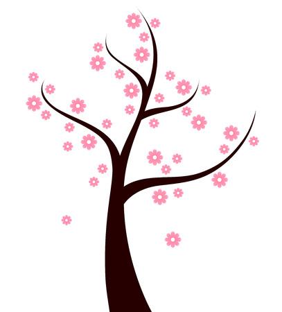 Beautiful Spring blossom Tree Ilustração