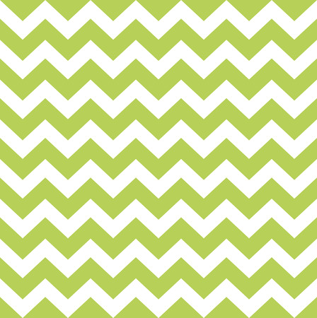 zig zag: Seamless argyle pattern in green and white Illustration Illustration