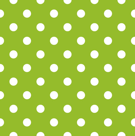 Apple green dotted seamless pattern or background  Vector