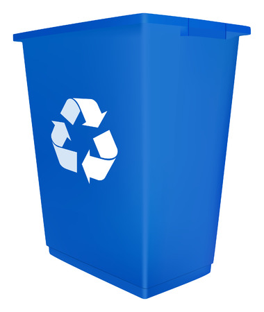social awareness symbol: Recycle bin