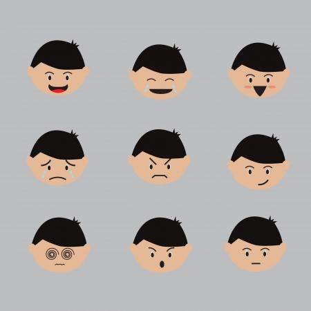 Emotion cartoon