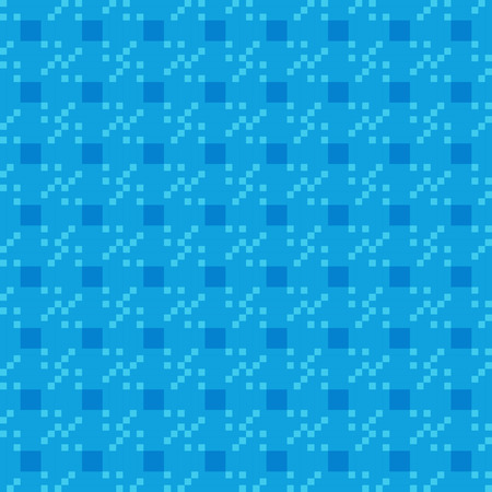 coverings: geometric blue repeating pattern vector background