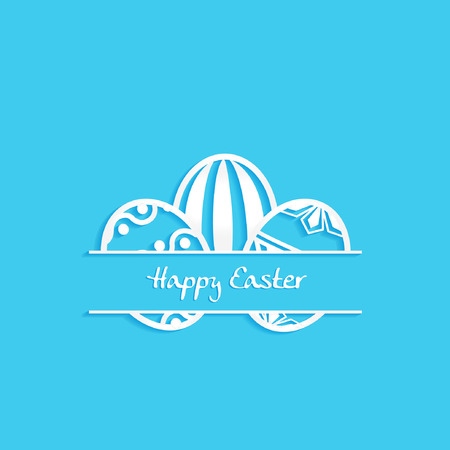 holyday: happy easter card
