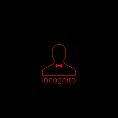 sneak: incognito icon Illustration