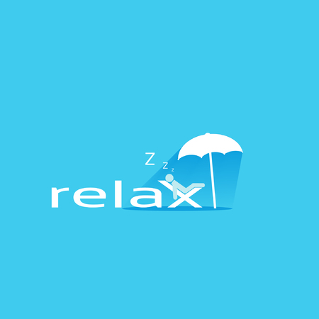 relax concept background design layout for poster flyer cover brochure